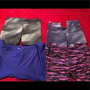 10 Piece UA workout attire